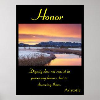 Tierra 6 de los posters del honor