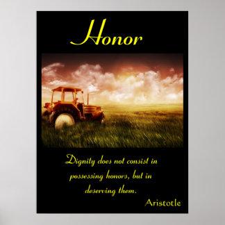 Tierra 8 de los posters del honor