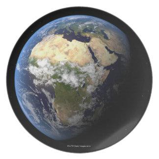 Tierra 8 plato de cena