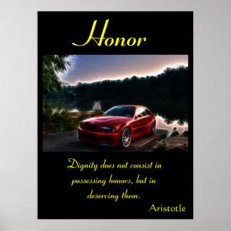 Tierra 9 de los posters del honor