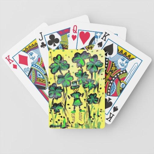 Tierra afortunada baraja de cartas