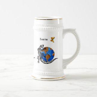 Tierra animal tazas de café