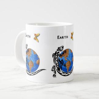 Tierra animal taza grande