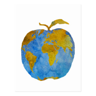Tierra Apple Tarjetas Postales