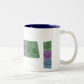Tierra as Titanium Erbium Radium Two-Tone Coffee Mug