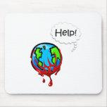 Tierra (ayuda) alfombrillas de ratones