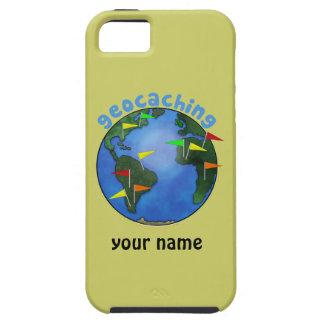 Tierra azul con el iphone de encargo 5 de iPhone 5 funda