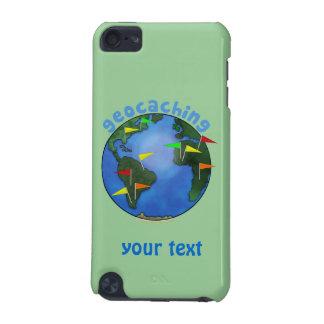 Tierra azul con el personalizado de Geocaching de  Funda Para iPod Touch 5G