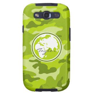 Tierra; camo verde claro, camuflaje galaxy s3 cobertura