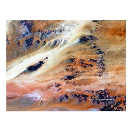Tierra como POSTALES de la serie del ARTE
