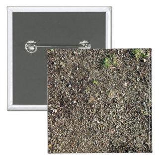 Tierra con las pequeñas piedras pin