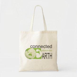 Tierra conectada - bolso bolsa tela barata