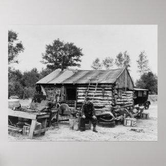 Tierra cortada Farmer, 1937 Impresiones