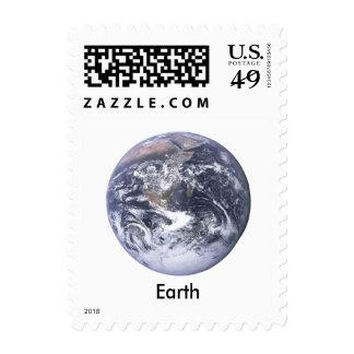 Tierra - cuadro del public domain sellos