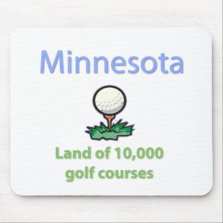 Tierra de 10.000 campos de golf alfombrilla de ratones
