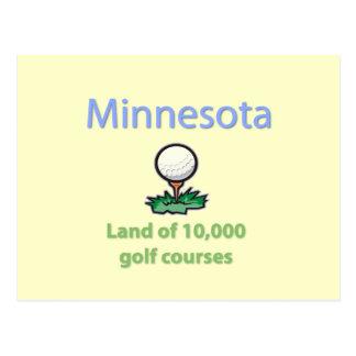 Tierra de 10.000 campos de golf postal