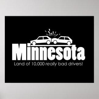 Tierra de 10.000 conductores realmente malos poster