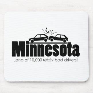 Tierra de 10.000 conductores realmente malos tapetes de ratón