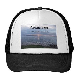 Tierra de Aotearoa de la nube blanca larga Gorro