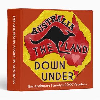"""Tierra de Australia abajo bajo vacaciones del Carpeta 1 1/2"""""""