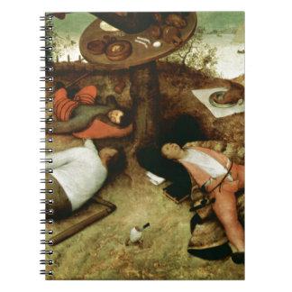 Tierra de Cockaigne de Pieter Bruegel la anciano Cuadernos