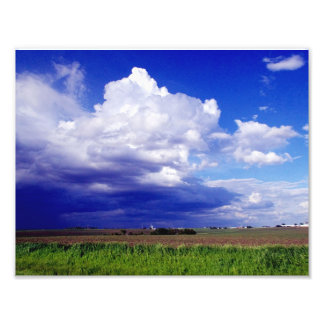 Tierra de cultivo de Iowa Fotos