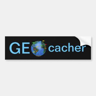 Tierra de Geocacher con el coche del personalizado Pegatina Para Auto
