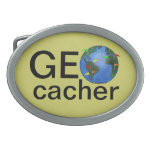 Tierra de Geocacher con el personalizado de Geocac Hebilla Cinturon