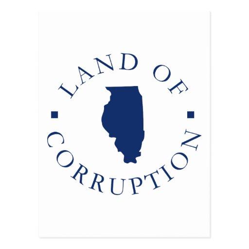 Tierra de Illinois de la corrupción Postal