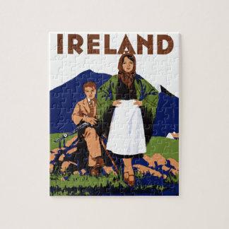 Tierra de Irlanda del vintage eterno de la Puzzles Con Fotos