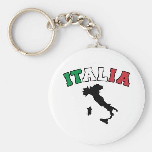 Tierra de Italia Llavero Personalizado