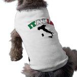 Tierra de Italia Playera Sin Mangas Para Perro
