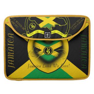 Tierra de Jamaica amamos 15 pulgadas Fundas Para Macbook Pro