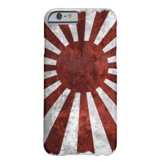 Tierra de Japón el | de la bandera del japonés del Funda De iPhone 6 Barely There