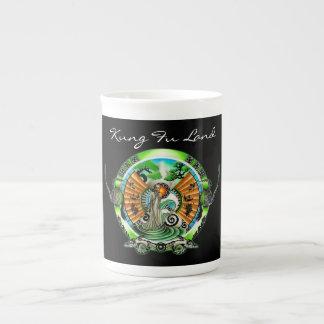 Tierra de Kung Fu Taza De Porcelana