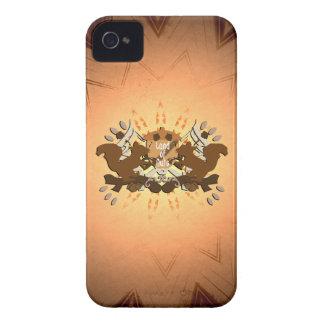Tierra de la ardilla Nuts Blackberry iPhone 4 Case-Mate Coberturas