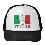 Tierra de la bandera de Italia Gorro
