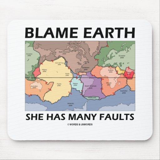 Tierra de la culpa ella tiene muchas faltas (la te tapete de ratones