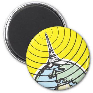 Tierra de la difusión imán redondo 5 cm
