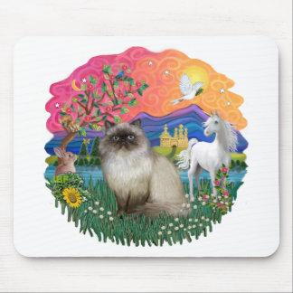 Tierra de la fantasía (FF) - gato de Himilayan Alfombrillas De Ratones