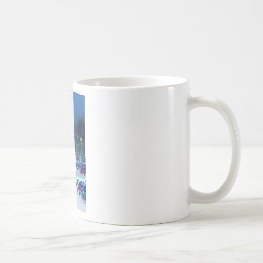 Tierra de la fantasía taza de café