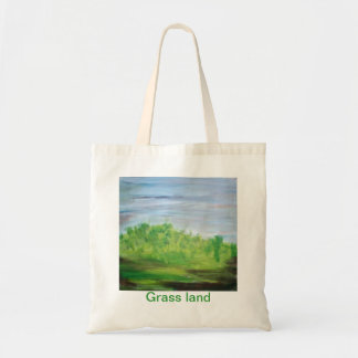 Tierra de la hierba bolsa tela barata
