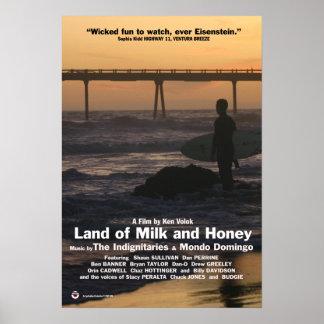 Tierra de la leche y de la miel (poster) póster