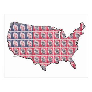 Tierra de la libertad postal