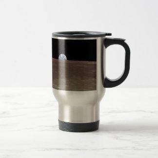 Tierra de la luna tazas de café