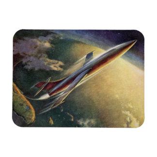Tierra de la nave espacial del aeroplano de la imanes de vinilo
