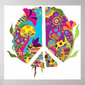 Tierra de la paz poster