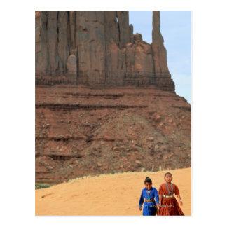 Tierra de la reserva de Navajo Tarjeta Postal