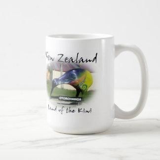 Tierra de la taza del kiwi