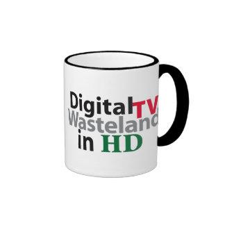 Tierra de la TV en HD Taza De Dos Colores